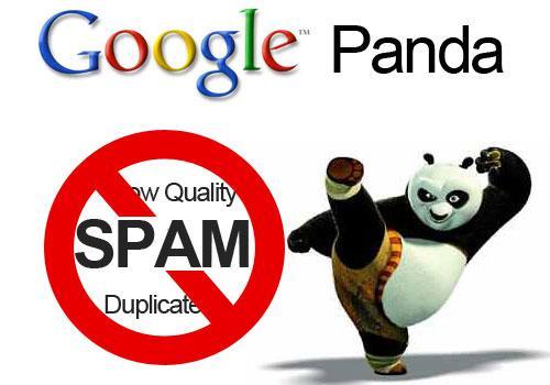 Panda antispam de google contra el black hat SEO