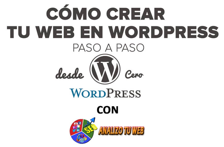 páginas web en WordPress
